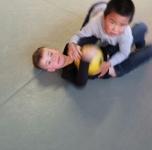 judoles in sportschool HARA